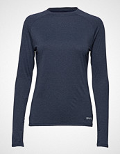 Skins Activewear Siken Womens L/S Top T-shirts & Tops Long-sleeved Blå SKINS