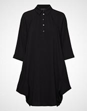 Armani Exchange Woman Woven Dress Kort Kjole Svart ARMANI EXCHANGE
