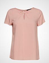 Esprit Collection Blouses Woven Bluse Kortermet Rosa ESPRIT COLLECTION
