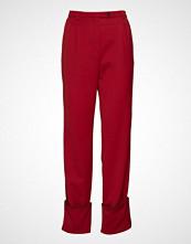 Stine Goya Ivy, 445 Garnet Tailoring Bukser Med Rette Ben Rød STINE GOYA