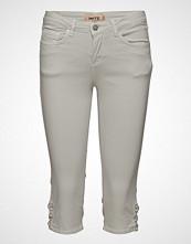 Imitz Capri Pants Slim Jeans Hvit IMITZ