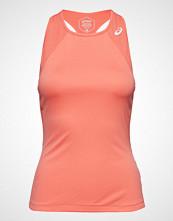 Asics Club Tank Top T-shirts & Tops Sleeveless Rosa ASICS