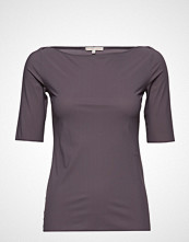 Filippa K Soft Sport Slim Mid Sleeve Top T-shirts & Tops Short-sleeved Svart FILIPPA K SOFT SPORT