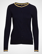 Scotch & Soda Basic Cardigan With Special Ribs Strikkegenser Cardigan Blå SCOTCH & SODA