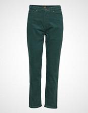 Lee Jeans Mom Straight Stramme Bukser Stoffbukser Grønn LEE JEANS