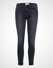FRAME Le Skinny De Jeanne Crop Skinny Jeans Blå FRAME