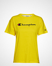Champion Rochester Crewneck T-Shirt T-shirts & Tops Short-sleeved Gul CHAMPION ROCHESTER