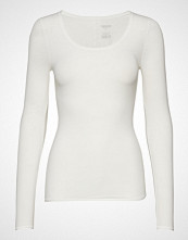 Schiesser Shirt 1/1 T-shirts & Tops Long-sleeved Hvit SCHIESSER