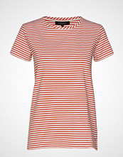 Soft Rebels Elle T-Shirt Y/D Stripes T-shirts & Tops Short-sleeved Rosa SOFT REBELS
