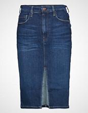 GUESS Jeans The It Girl Longuette Knelangt Skjørt Blå GUESS JEANS