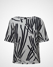 Nanso Ladies Shirt, Kokos Bluse Kortermet Multi/mønstret NANSO