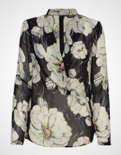 Marciano by GUESS Fine Lines Floral Top Bluse Langermet Multi/mønstret MARCIANO BY GUESS