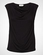 Rosemunde T-Shirt Ss Bluse Ermeløs Svart ROSEMUNDE