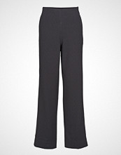 Cathrine Hammel High Waist Pants Vide Bukser Svart CATHRINE HAMMEL