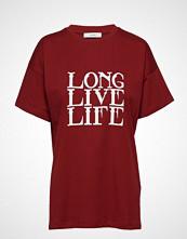 Gestuz Live Tee Ma18 T-shirts & Tops Short-sleeved Rød GESTUZ