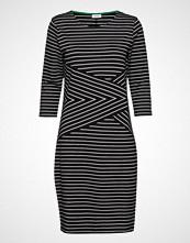 Gerry Weber Edition Dress Knitted Fabric Knelang Kjole Svart GERRY WEBER EDITION