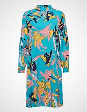 Minus Caitlyn Dress Knelang Kjole Blå MINUS