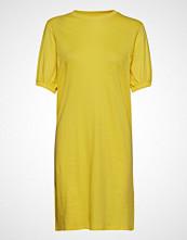 Ivyrevel Puff Sleeve Ivy Tshirt Dress Kort Kjole Gul IVYREVEL