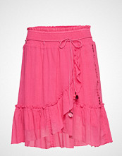 Odd Molly Superflow Skirt Knelangt Skjørt Rosa ODD MOLLY