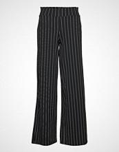 Gina Tricot Jenna Trousers Vide Bukser Svart GINA TRICOT