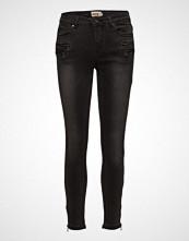 Imitz Capri Pants-Denim Skinny Jeans Grå IMITZ