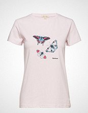 Barbour Barbour Wetherlam Tee T-shirts & Tops Short-sleeved Rosa BARBOUR