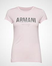 Armani Exchange Woman Jersey T-Shirt T-shirts & Tops Short-sleeved Rosa ARMANI EXCHANGE
