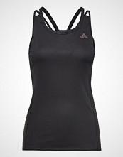 Adidas Runr Tank W T-shirts & Tops Sleeveless Svart ADIDAS