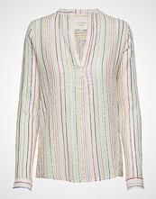 Lollys Laundry Lux Shirt Bluse Langermet Creme LOLLYS LAUNDRY