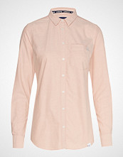 Superdry Oxford Shirt Langermet Skjorte Rosa SUPERDRY