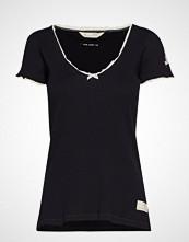 Odd Molly Drop Needle Top T-shirts & Tops Short-sleeved Blå ODD MOLLY