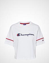 Champion Rochester Crewneck Croptop T-shirts & Tops Short-sleeved Hvit CHAMPION ROCHESTER