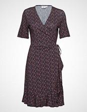 Saint Tropez Jersey Dress Above Knee Knelang Kjole Svart SAINT TROPEZ