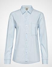 Twist & Tango Dani Shirt Cold Blue Langermet Skjorte Blå TWIST & TANGO