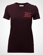 Wood Wood Eden T-Shirt T-shirts & Tops Short-sleeved Rød WOOD WOOD