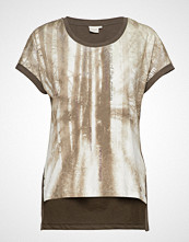 Cream Lavenie Tshirt T-shirts & Tops Short-sleeved Brun CREAM