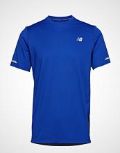 New Balance Nb Ice 2.0 Ss T-shirts & Tops Short-sleeved Blå NEW BALANCE