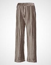 Filippa K Velvet Plissé Trousers Vide Bukser Brun FILIPPA K