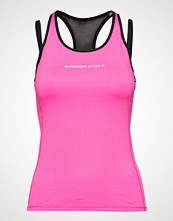 Superdry Superdry Gym Duo Strap Vest T-shirts & Tops Sleeveless Rosa SUPERDRY