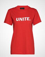 Storm & Marie Unite-Tee T-shirts & Tops Short-sleeved Rød STORM & MARIE