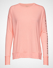 Superdry Sport Active Studio Luxe L/S Top T-shirts & Tops Long-sleeved Rosa SUPERDRY SPORT
