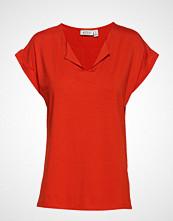 Masai Danny Top T-shirts & Tops Short-sleeved Rød MASAI