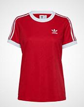 Adidas Originals 3 Str Tee T-shirts & Tops Short-sleeved Rød ADIDAS ORIGINALS