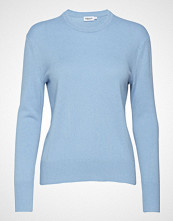 Filippa K Cashmere R-Neck Sweater Strikket Genser Blå FILIPPA K