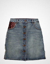 Scotch & Soda Seasonal Denim Skirt Kort Skjørt Blå SCOTCH & SODA