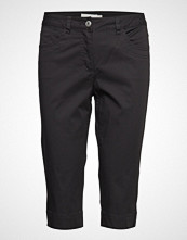 Brandtex Capri Pants Skinny Jeans Svart BRANDTEX