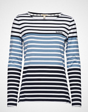 Barbour Barbour Tellin Top T-shirts & Tops Long-sleeved Blå BARBOUR
