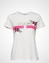 Fransa Becelebre 1 T-Shirt T-shirts & Tops Short-sleeved Hvit FRANSA