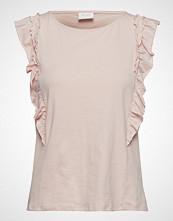 Vila Vilanna S/L Top T-shirts & Tops Sleeveless Rosa VILA