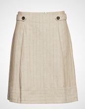 Esprit Collection Skirts Light Woven Kort Skjørt Beige ESPRIT COLLECTION